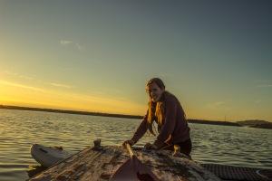 Antelope Island - Ellie Paddleboard