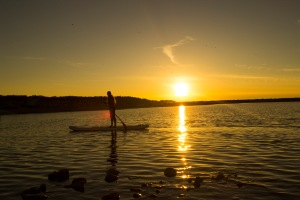 Antelope Island - Sunset Paddleboard - Ellie