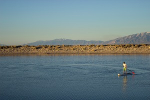 Antelope Island - Sunset Paddleboarding - Sean