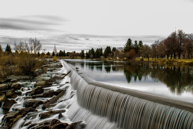 Idaho Falls - The falls