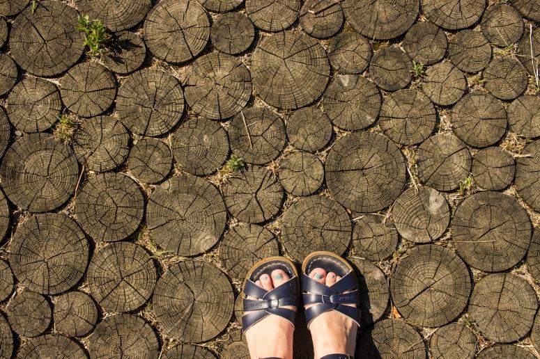 Lake Iseo - amazing wood floor