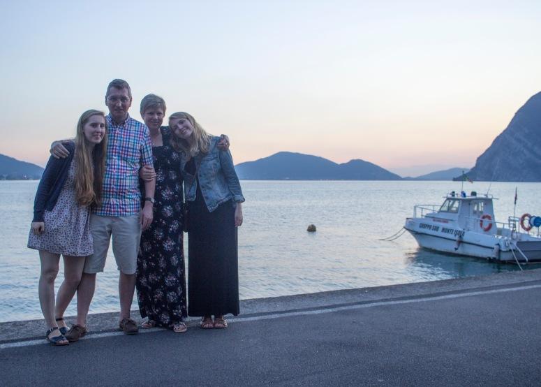 Lake Iseo - Family shot #2