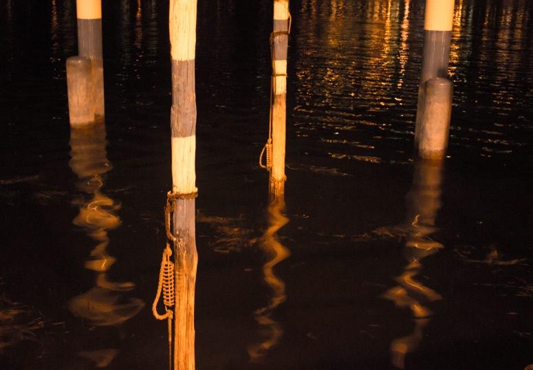 Lake Iseo - Posts reflection