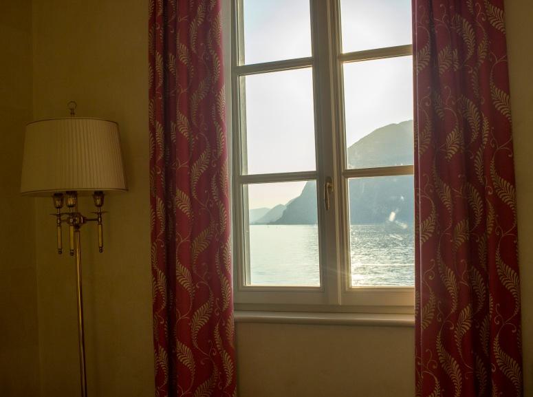 Lake Iseo - Window view