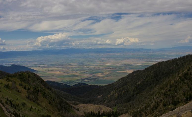 Sacajawea hike views