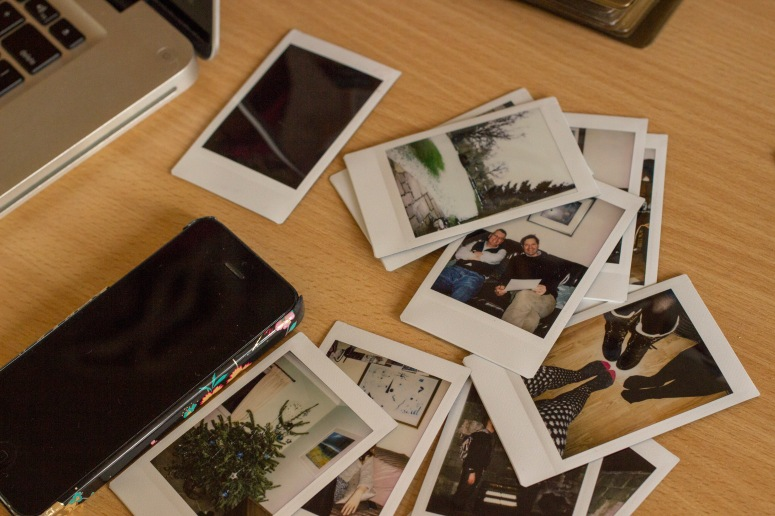 Home - instax and phone
