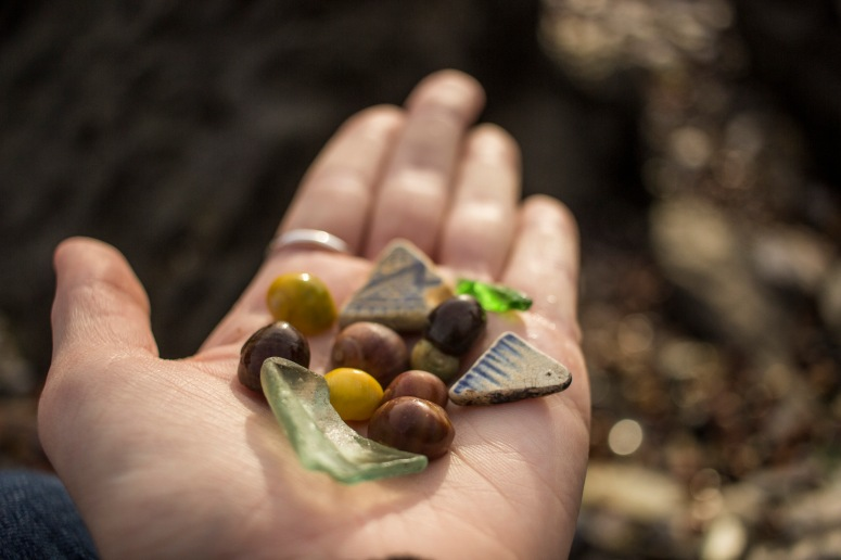 Plymouth - Seaglass finds