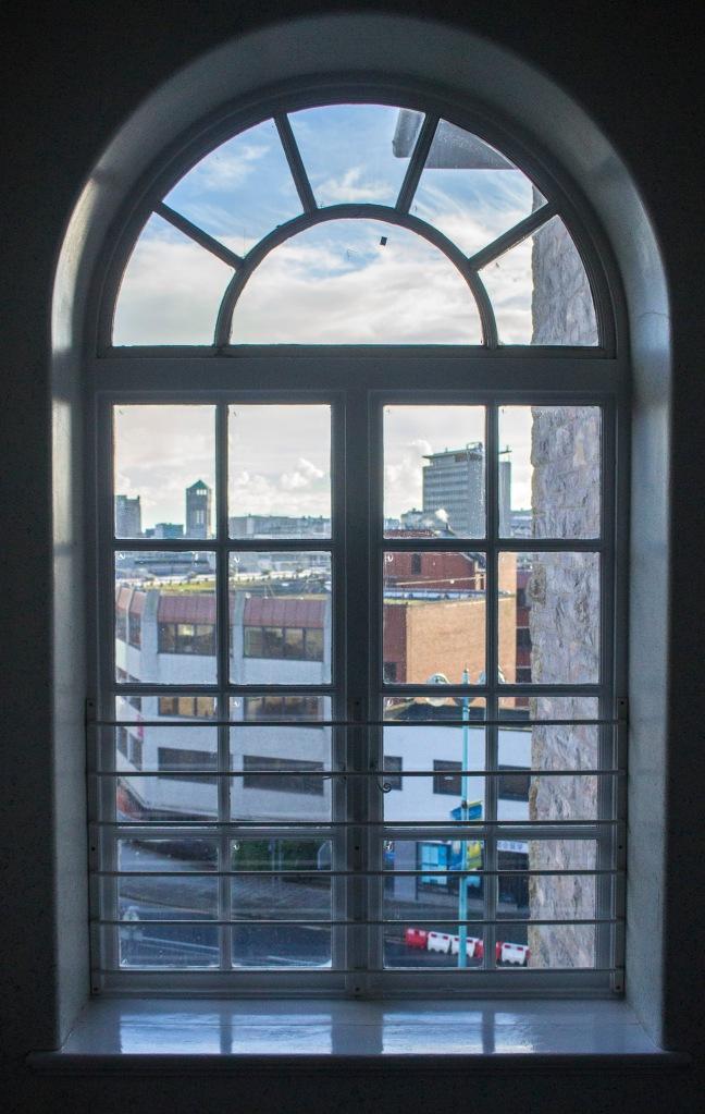 Plymouth - through the window